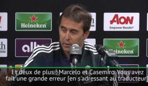 Real Madrid - Quand Lopetegui reprend son traducteur