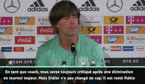 Ligue des Nations - Löw, premier fan de Deschamps