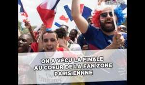 On a vécu la finale au coeur de la fan zone parisienne