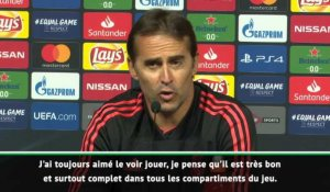 "Real Madrid - Lopetegui : ""Benzema a un comportement fantastique"""