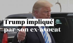 Trump impliqué par son ex-avocat Michael Cohen