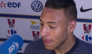 FRANCE-IRLANDE interview Corentin TOLISSO (match de préparation Mondial 2018)