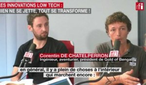 Les innovations low tech :  Rien ne se jette, tout se transforme !