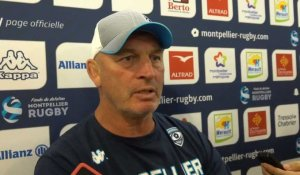 TOP 14 - Montpellier Vs RC Toulon - Réaction Vern Cotter_Picamoles_Dumoulin