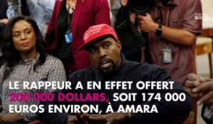 Kanye West offre 200 000 dollars à une candidate démocrate