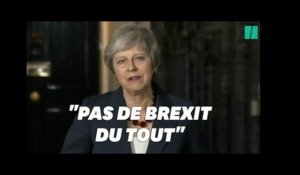 Accord Brexit: l'expression de Theresa May qui relance l'espoir des anti-Brexit