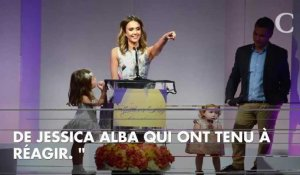 69df03ec5bfe PHOTO. Jessica Alba   son superbe portrait de famille sur Orange Vidéos