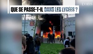 Blocus, violences, incendies : la contestation sociale gagne les lycées