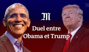 Midterms : duel entre Obama et Trump