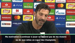 "Groupe C - Buffon : ""Tant que j'ai la motivation, je vais continuer"""
