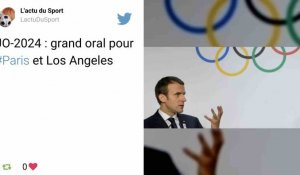 JO 2024 : «La France attend les Jeux», assure Macron