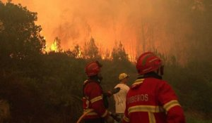 Les Portugais continuent de faire face aux incendies²