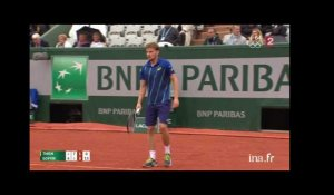 Quart de finale messieurs Thiem contre Goffin