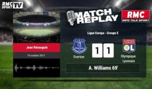 Everton - OL (1-2) : Le Goal Replay avec le son RMCSPORT