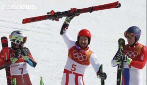 Hirscher en or, Pinturault en bronze