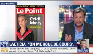 "Laeticia Hallyday: ""On me roue de coups"" (2/2)"