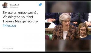 Ex-espion empoisonné. Washington soutient May, qui accuse la Russie.