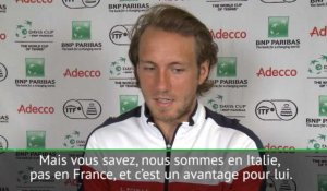 "Coupe Davis - Pouille : ""Ce sera un match difficile"""