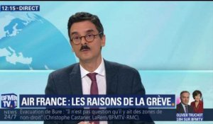 Air France : les raisons de la grève