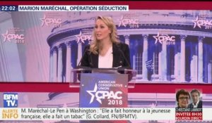 L'opération séduction de Marion Maréchal-Le Pen à Washington