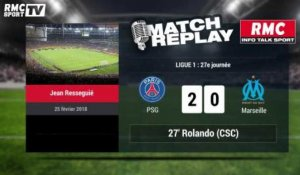 PSG-OM (3-0) : Le Match Replay avec le son RMC Sport