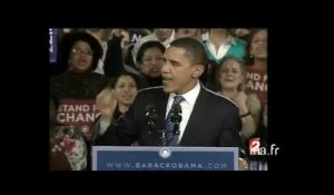 "Barack Obama ""Yes we can"""