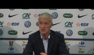 "Amical - Deschamps : ""Ousmane est capable de faire des choses fantastiques"""
