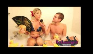 Eve Angeli dans le bain de Jeremstar - INTERVIEW
