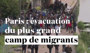 Paris : évacuation du plus grand camp de migrants