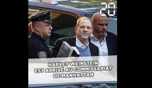 Harvey Weinstein est arrivé au commissariat de Manhattan
