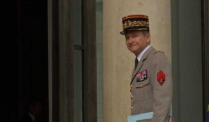 Démission du chef d'état-major Pierre de Villiers