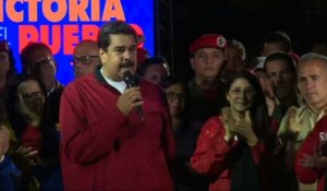 "Venezuela: Maduro salue ""le plus grand vote de la révolution"""