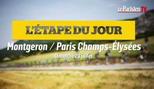 Tour de France. Etape 21  :  Montgeron-Paris