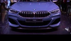 BMW 8 Series Coupe at the 2018 Paris Motor Show