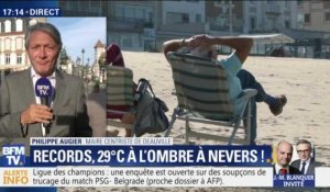 Records de températures: 29°C à l'ombre à Nevers !