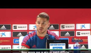 "Ligue des Nations - Ramos : ""Stopper Harry Kane"""