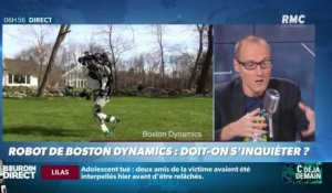 La chronique d'Anthony Morel : Robot de Boston Dynamics, doit-on s'inquiéter ? - 15/10