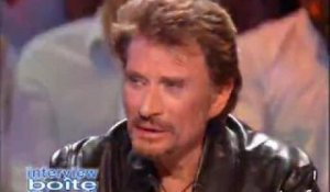 "Interview ""Boite de nuit"" : Johnny Hallyday"