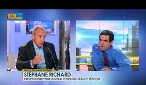 France Télécom devient Orange : Stéphane Richard dans Good Morning Business - 29 mai