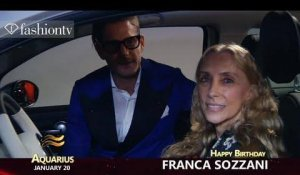 Happy Birthday, Franca Sozzani!  January 20th | FashionTV