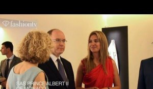 Sem-Art Gallery Exclusive party with HSH Prince Albert II of Monaco | FashionTV