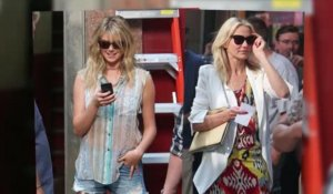 Cameron Diaz et Kate Upton tournent à New York