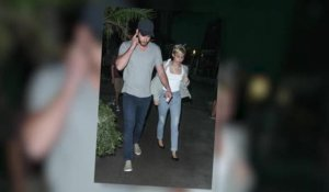 Liam Hemsworth et Miley Cyrus vus ensemble