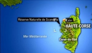 Corse: importante pollution aux hydrocarbures - 02/09
