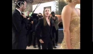 Fashiontv | John Galliano and Charilize Theron At Christian Dior | fashiontv - FTV.com