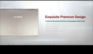 "GIGABYTE 14"" Laptop U24F - Exceed The Limits ????"