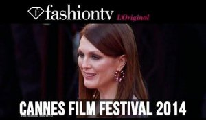 Julianne Moore, Zoe Saldana, Liya Kebede at the Cannes 2014 Premiere of Mr. Turner | FashionTV