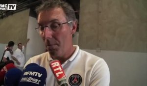 "Football / Blanc : ""Aurier a beaucoup de potentiel"" 24/07"