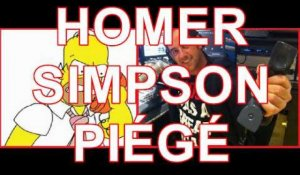 Simpson : Homer Simpson clash Olivier Bourg