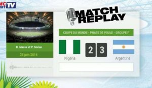 Nigeria - Argentine : Le Match Replay avec le son RMC Sport !